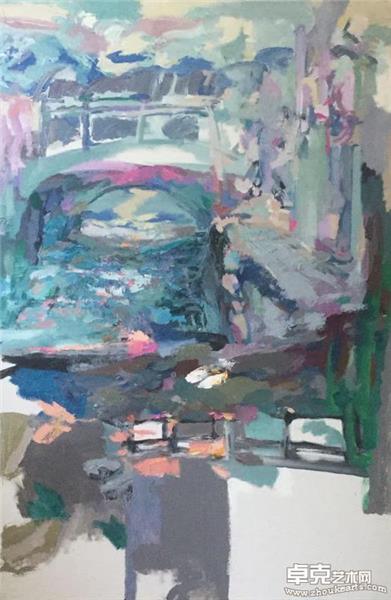 屏山-清早的桥